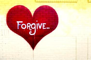 Forgiveness – letting go