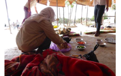 Feasting with Bedouins